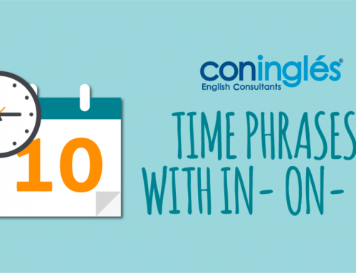 TIME PHRASES WITH IN- ON- AT